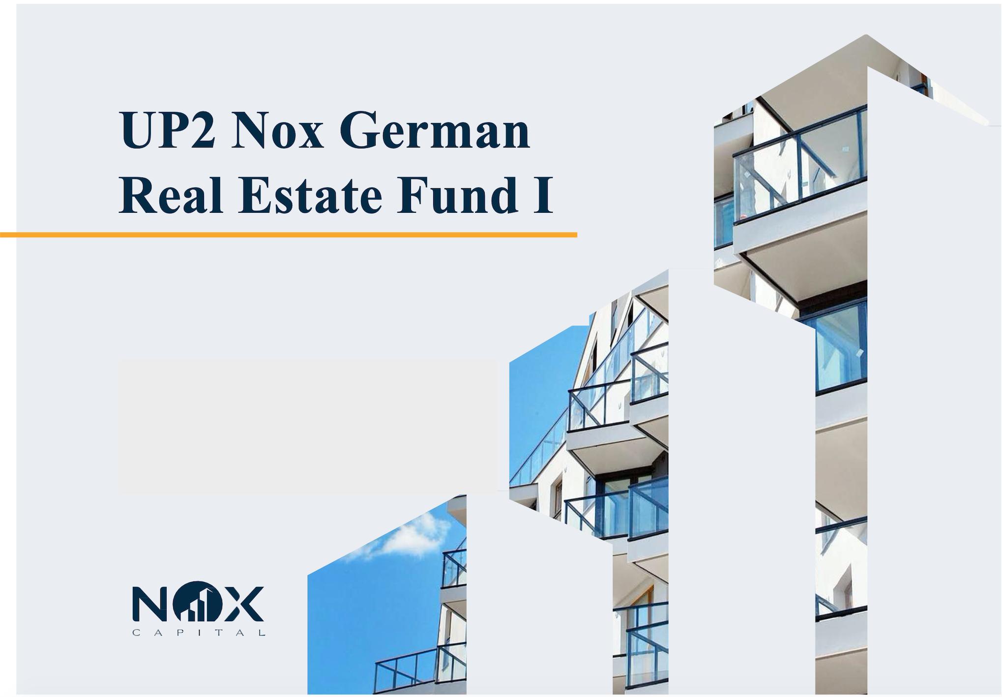 Up2 Nox German Real Estate Fund Immobilienfonds Wohnimmobilien